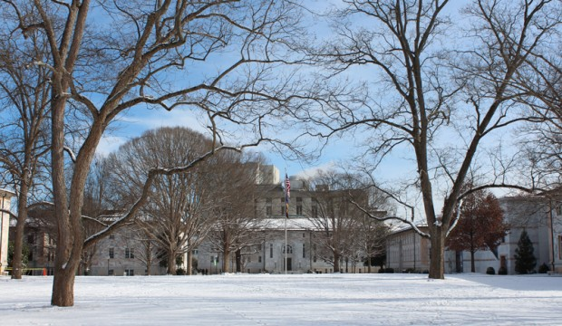 Emory shut down beacuse of snow