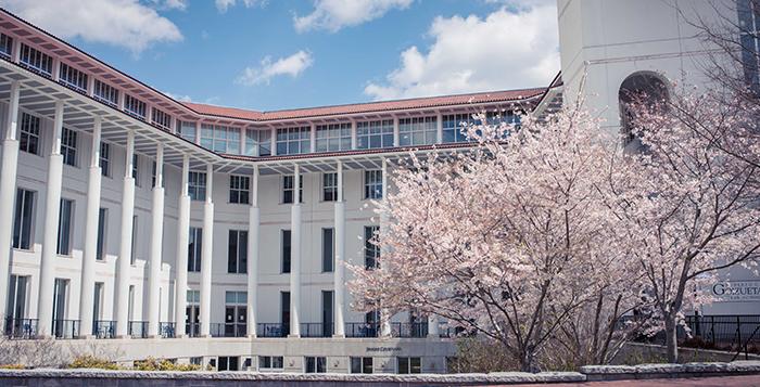 The Goizueta Business School. Photo by Luyao Zou