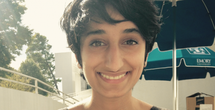 College junior Nadia irfan (Above) shares her thoughts on family and her memories of religious ceremonies back home.