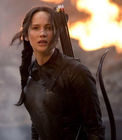 """Jennifer Lawrence stars in """"The Hunger Games: Mockingjay — Part 1,"""" reprising her role as Katniss Everdeen. Photo Courtesy of Lionsgate."""
